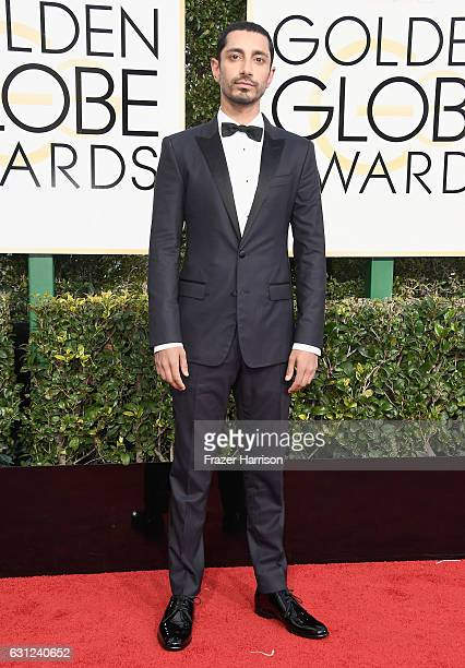 Actor Riz Ahmed attends the 74th Annual Golden Globe Awards at The Beverly Hilton Hotel on January 8 2017 in Beverly Hills California