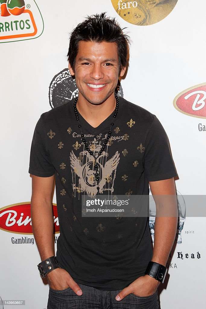 Actor R.J. Cantu attends the 8th Annual Cinco de Mayo Benefit And Charity Celebrity Poker Tournament at Velvet Margarita on May 5, 2012 in Hollywood, California.
