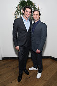 Actor RJ Mitte and drector Hank Bedford attends the 2015 Tribeca Film Festival After Party for 'Dixieland' at SushiSamba 7 on April 19 2015 in New...