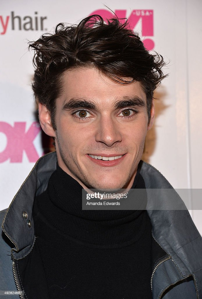Actor RJ Mitte arrives OK Magazine's 'So Sexy' LA Event at Lure on May 21 2014 in Hollywood California