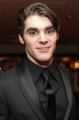 Actor RJ Mitte attends HBO's Post 2014 Golden Globe Awards Party at Circa 55 Restaurant on January 12 2014 in Los Angeles California
