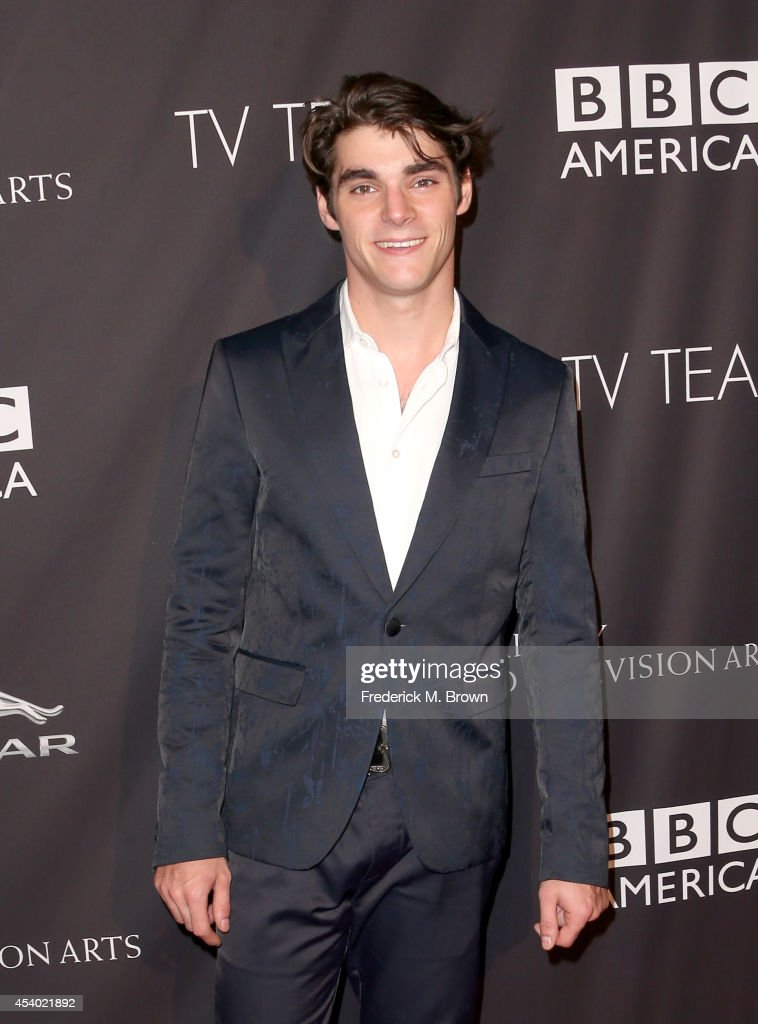 Actor RJ Mitte attends the 2014 BAFTA Los Angeles TV Tea presented by BBC America And Jaguar at SLS Hotel on August 23 2014 in Beverly Hills...
