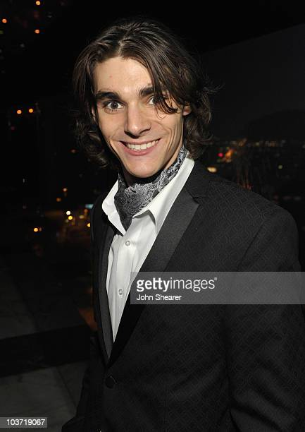Actor RJ Mitte attends the AMC After Party for the 62nd Annual EMMY Awards at Soho House on August 29 2010 in West Hollywood California