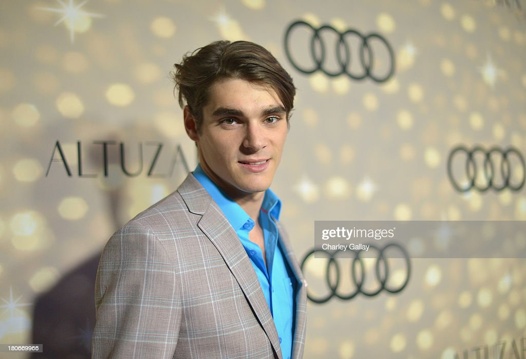Actor RJ Mitte attends the Audi and Altuzarra KickOff Emmys Week 2013 event at Ceconni's on September 15 2013 in West Hollywood California