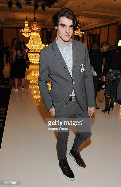 Actor RJ Mitte attends the MICHALSKY StyleNite 2015 at Ritz Carlton on July 10 2015 in Berlin Germany