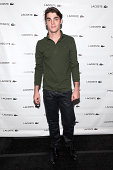 Actor RJ Mitte is seen during MercedesBenz Fashion Week Spring 2015 at Lincoln Center for the Performing Arts on September 6 2014 in New York City