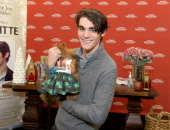 Actor RJ Mitte launches the 4th Annual 'Share The Joy' Campaign With Cost Plus World Market on November 16 2013 in Los Angeles California