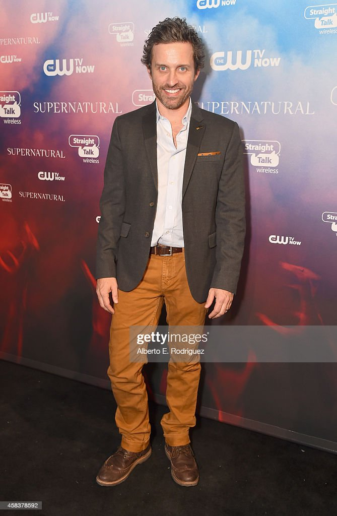 Actor Rob Benedict attends the CW's Fan Party to Celebrate the 200th episode of 'Supernatural' on November 3, 2014 in Los Angeles, California.