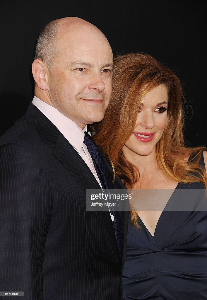 Actor <a gi-track='captionPersonalityLinkClicked' href=/galleries/search?phrase=Rob+Corddry&family=editorial&specificpeople=583934 ng-click='$event.stopPropagation()'>Rob Corddry</a> and Sandra Corddry attend the 'Pain & Gain' premiere held at TCL Chinese Theatre on April 22, 2013 in Hollywood, California.
