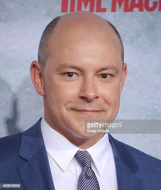 Actor Rob Corddry arrives at the Los Angeles premiere of 'Hot Tub Time Machine 2' at Regency Village Theatre on February 18 2015 in Westwood...