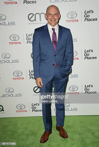 Actor Rob Corddry attends the 2014 Environmental Media Awards at Warner Bros Studios on October 18 2014 in Burbank California