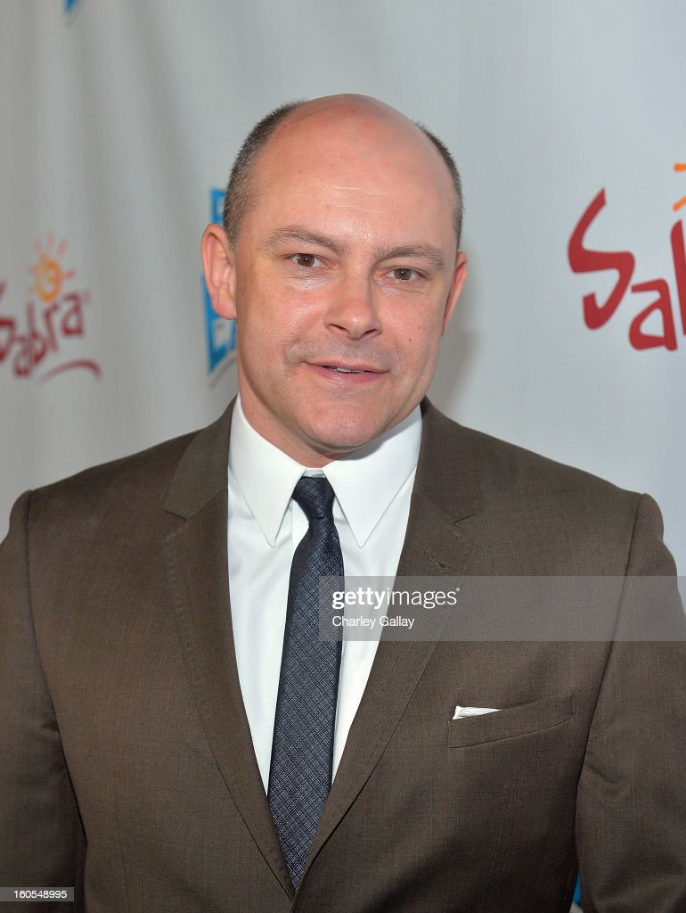 Actor Rob Corddry attends the 'Escape From Planet Earth' premiere presented by The Weinstein Company in partnership with Sabra at Mann Chinese 6 on February 2, 2013 in Los Angeles, California.