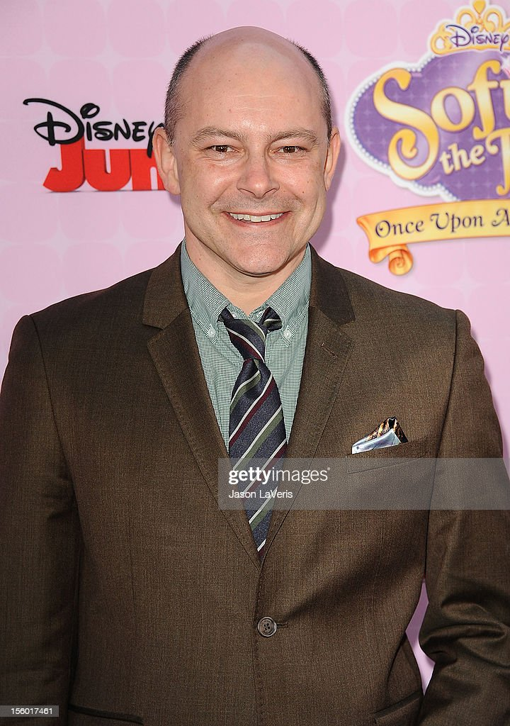 Actor Rob Corddry attends the premiere of 'Sofia The First: Once Upon a Princess' at Walt Disney Studios on November 10, 2012 in Burbank, California.