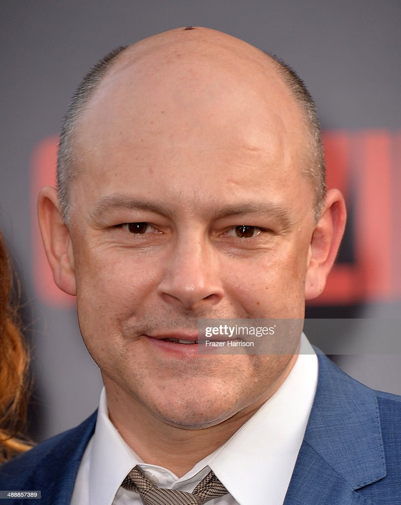 Actor <a gi-track='captionPersonalityLinkClicked' href=/galleries/search?phrase=Rob+Corddry&family=editorial&specificpeople=583934 ng-click='$event.stopPropagation()'>Rob Corddry</a> attends the premiere of Warner Bros. Pictures and Legendary Pictures' 'Godzilla' at Dolby Theatre on May 8, 2014 in Hollywood, California.