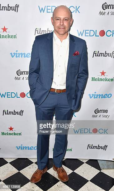 Actor Rob Corddry attends the screening party for Vimeo On Demand's New WebSeries 'Wedlock' at The Ace Hotel on September 25 2014 in Downtown Los...