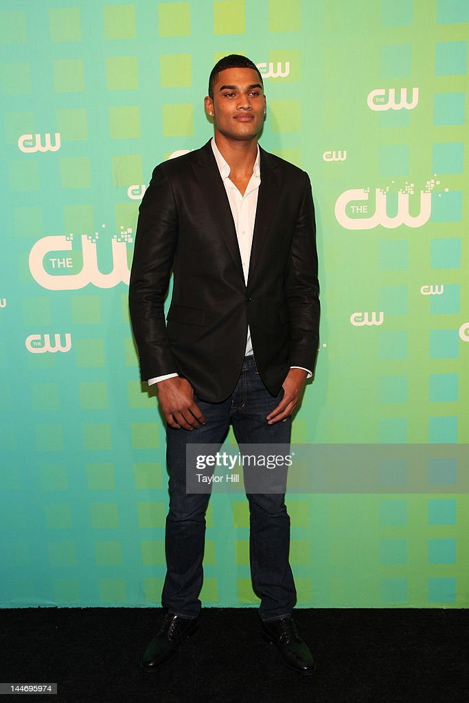 Actor Rob Evans attends The CW Network's New York 2012 Upfront at New York City Center on May 17, 2012 in New York City.