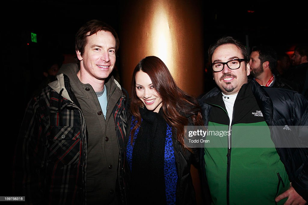 Actor Rob Huebel (L) attends Night 2 of Hyde Lounge on January 19, 2013 in Park City, Utah.