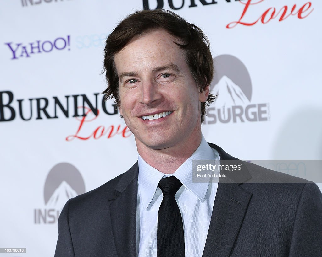 Actor Rob Huebel attends the 'Burning Love' Season 2 Los Angeles Premiere at Paramount Theater on the Paramount Studios lot on February 5, 2013 in Hollywood, California.
