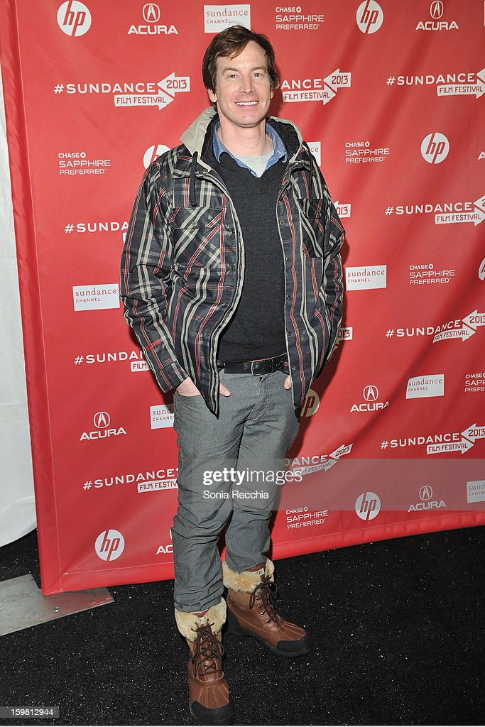Actor Rob Huebel attends the 'Hell Baby' premiere at Library Center Theater during the 2013 Sundance Film Festival on January 20, 2013 in Park City, Utah.