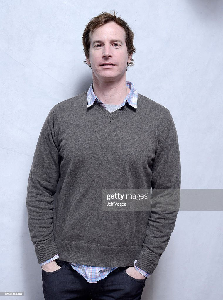 Actor Rob Huebel poses for a portrait during the 2013 Sundance Film Festival at the WireImage Portrait Studio at Village At The Lift on January 21 2013 in Park City, Utah.