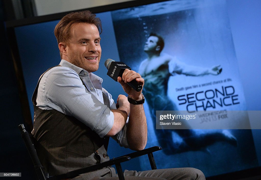 Actor Rob Kazinsky discusses his new FOX series 'Second Chance' at AOL Build Speaker Series at AOL Studios In New York on January 12 2016 in New York...
