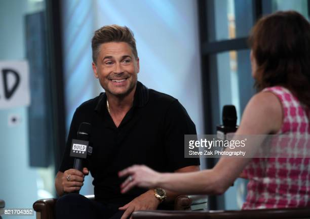 Actor Rob Lowe attends Build Series to discuss his new show 'The Lowe Files' at Build Studio on July 24 2017 in New York City
