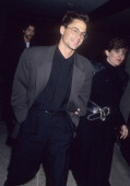Actor Rob Lowe attends the 'Bad Influence' Premiere Party on March 5 1990 at Twenty/20 Club in Century City California