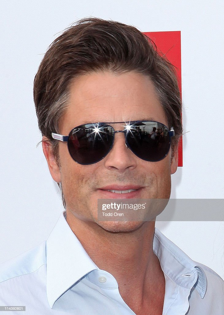 Actor Rob Lowe attends the Hollywood Reporter honors Jodie Foster for 'The Beaver' hosted by vitaminwater at Z Plage vitaminwater on May 18, 2011 in Cannes, France.