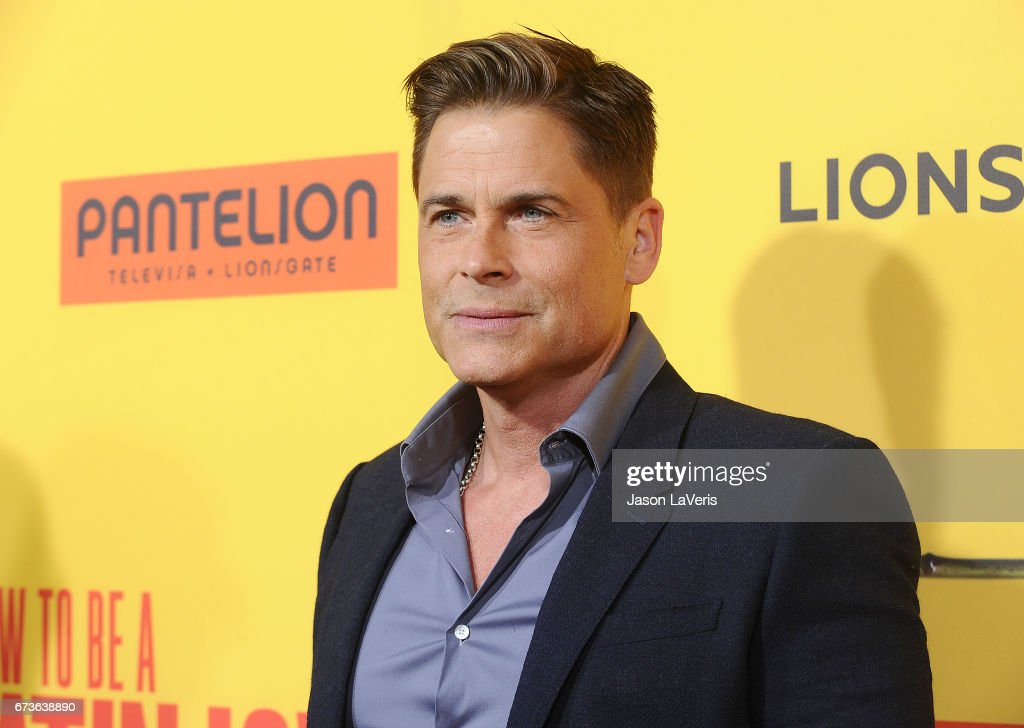 Premiere of pantelion films actor rob lowe attends the premiere of how to be a latin lover at ccuart Choice Image