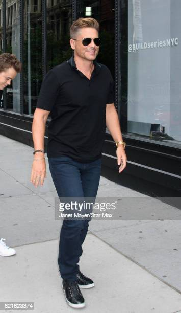 Actor Rob Lowe is seen on July 24 2017 in New York City