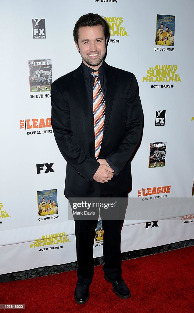 Actor Rob McElhenny attends the FX season premiere screenings for 'It's Always Sunny In Philadelphia' and 'The League' at ArcLight Cinemas Cinerama Dome on October 9, 2012 in Hollywood, California.