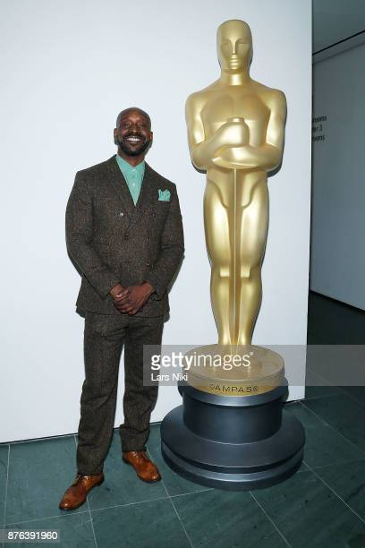 Actor Rob Morgan attends The Academy of Motion Picture Arts Sciences Official Academy Screening of Mudbound at the MOMA Celeste Bartos Theater on...