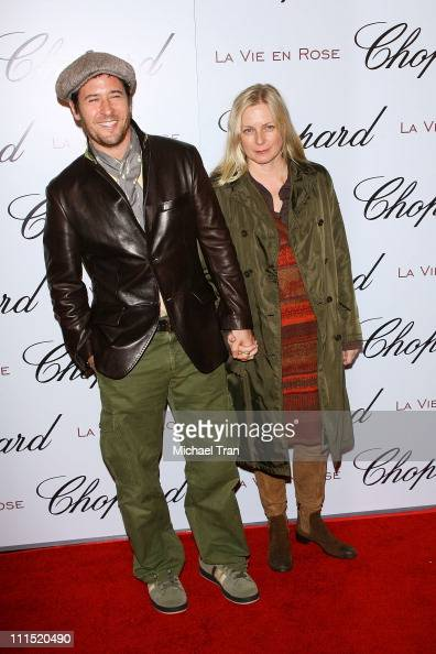 Actor Rob Morrow and wife Debbon Ayerarrives at the Chopard and Picturehouse hosts An Evening with La Vie En Rose Marion Cotillard held at Chateau...