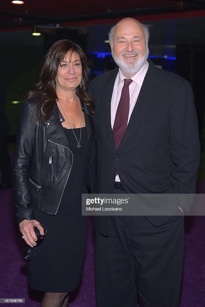 Actor <a gi-track='captionPersonalityLinkClicked' href=/galleries/search?phrase=Rob+Reiner&family=editorial&specificpeople=208749 ng-click='$event.stopPropagation()'>Rob Reiner</a> and wife Michelle Reiner attend the 'The Wolf Of Wall Street' premiere after party at Roseland Ballroom on December 17, 2013 in New York City.