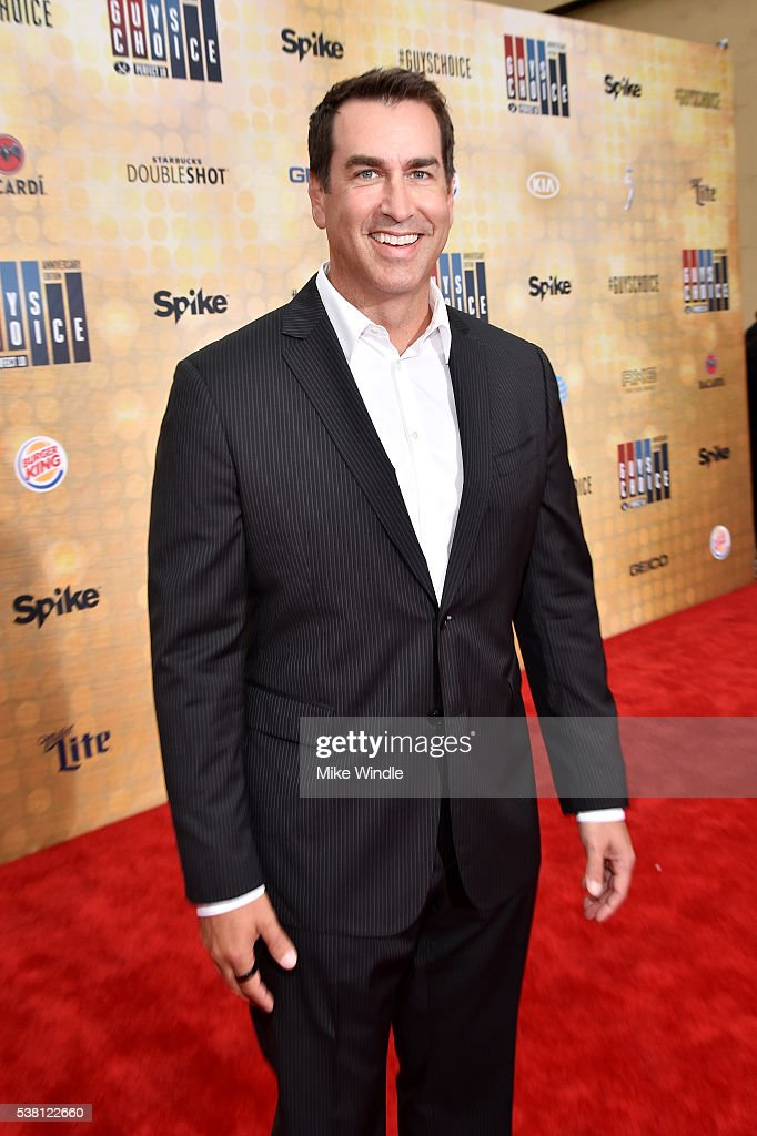 Actor <a gi-track='captionPersonalityLinkClicked' href=/galleries/search?phrase=Rob+Riggle&family=editorial&specificpeople=2789494 ng-click='$event.stopPropagation()'>Rob Riggle</a> attends Spike TV's 10th Annual Guys Choice Awards at Sony Pictures Studios on June 4, 2016 in Culver City, California.