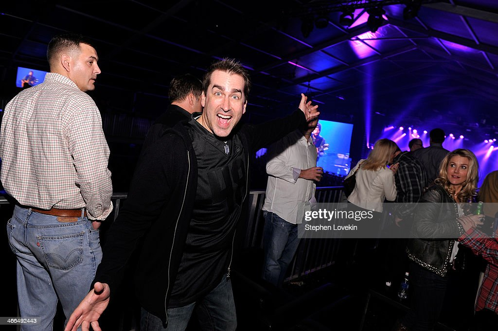Actor <a gi-track='captionPersonalityLinkClicked' href=/galleries/search?phrase=Rob+Riggle&family=editorial&specificpeople=2789494 ng-click='$event.stopPropagation()'>Rob Riggle</a> attends the Bud Light Hotel on February 1, 2014 in New York City.