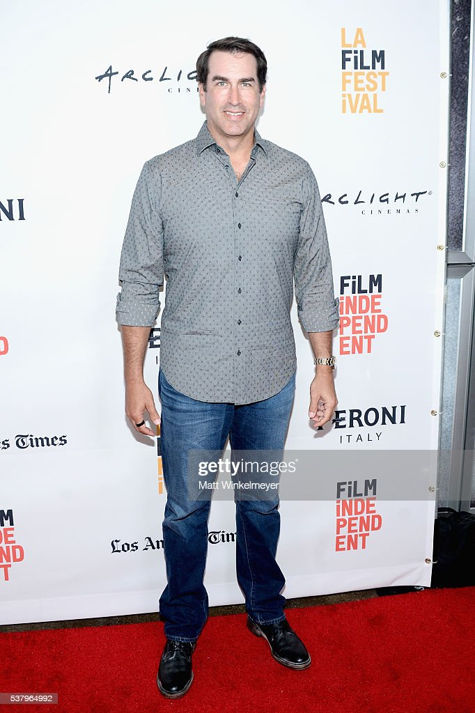 Actor <a gi-track='captionPersonalityLinkClicked' href=/galleries/search?phrase=Rob+Riggle&family=editorial&specificpeople=2789494 ng-click='$event.stopPropagation()'>Rob Riggle</a> attends the premiere of 'Opening Night' during the 2016 Los Angeles Film Festival at Arclight Cinemas Culver City on June 3, 2016 in Culver City, California.