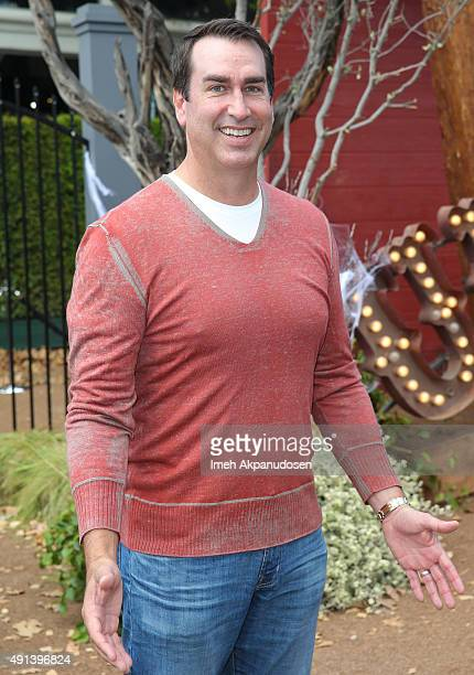 Actor Rob Riggle attends the premiere of Sony Pictures Entertainment's 'Goosebumps' at Regency Village Theatre on October 4 2015 in Westwood...