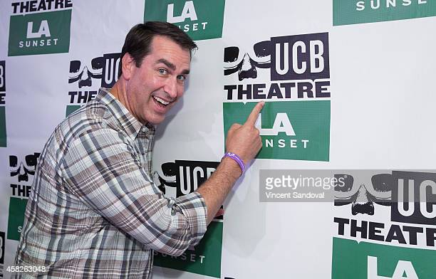 Actor Rob Riggle attends the Upright Citizens Brigade Theatre Sunset grand opening celebration at Upright Citizens Brigade Theatre Sunset on November...