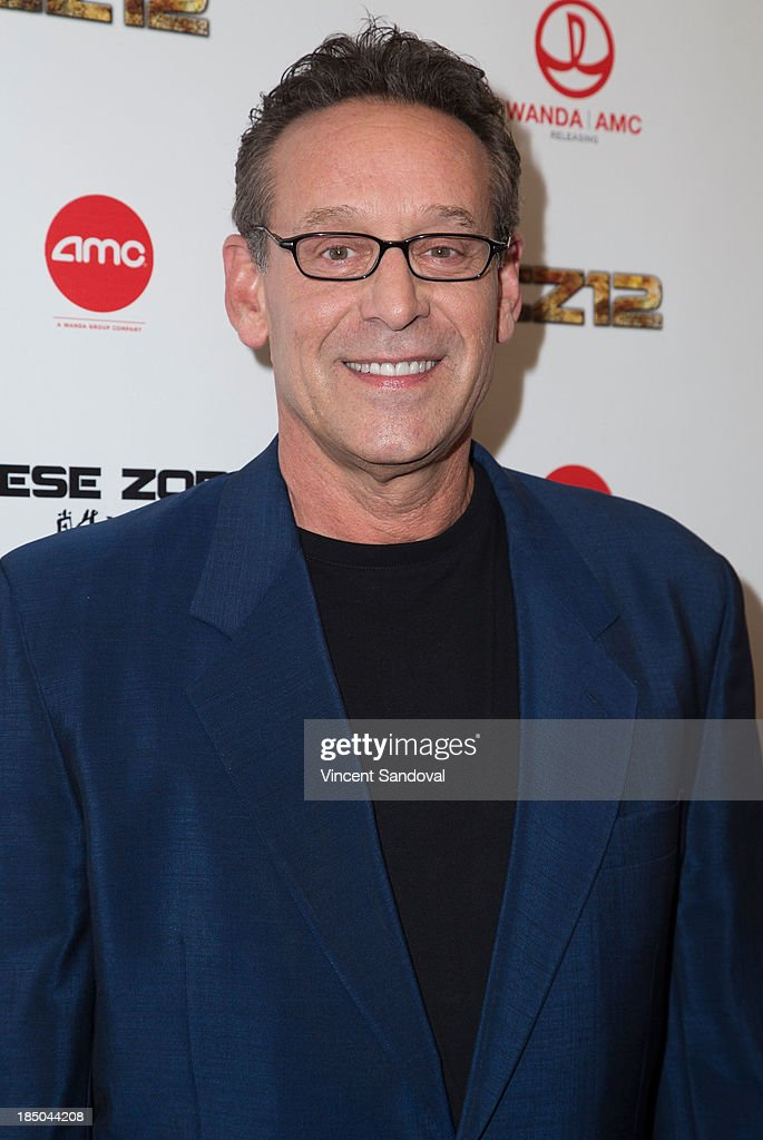 Actor Rob Steinberg attends the Los Angeles premiere of 'Chinese Zodiac' at AMC Century City 15 theater on October 16, 2013 in Century City, California.