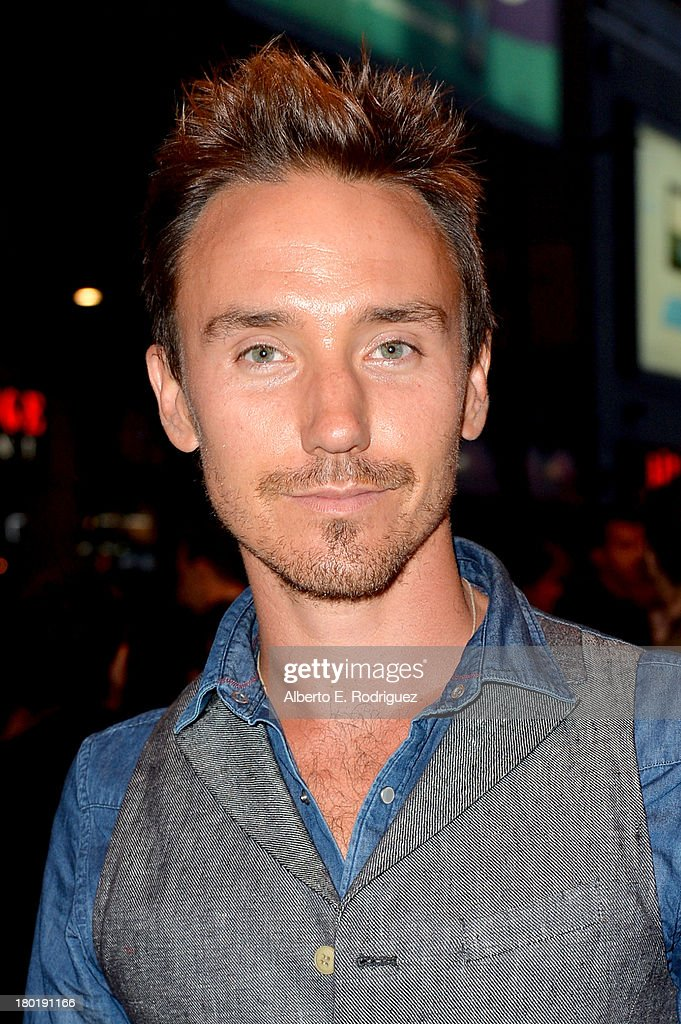 Actor Rob Stewart arrives at the 'One Chance' Premiere during the 2013 Toronto International Film Festival at Winter Garden Theatre on September 9, 2013 in Toronto, Canada.