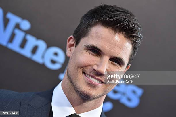 Actor Robbie Amell arrives at the premiere of EuropaCorp's 'Nine Lives' at TCL Chinese Theatre on August 1 2016 in Hollywood California