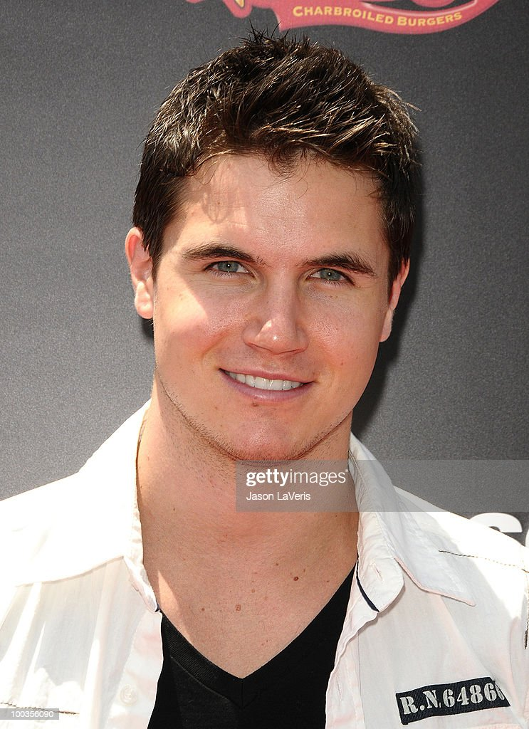 Actor Robbie Amell attends the 'Sk8 For Life' benefit at Fantasy Factory on May 22, 2010 in Los Angeles, California.