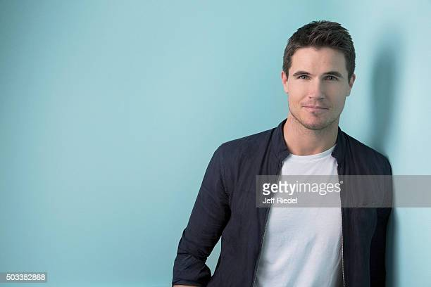 Actor Robbie Amell is photographed for TV Guide Magazine on January 17 2015 in Pasadena California