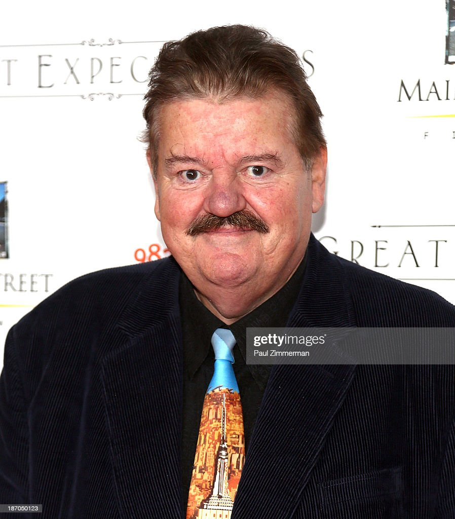 Actor <a gi-track='captionPersonalityLinkClicked' href=/galleries/search?phrase=Robbie+Coltrane&family=editorial&specificpeople=644111 ng-click='$event.stopPropagation()'>Robbie Coltrane</a> attends the New York premiere of 'Charles Dickens' Great Expectations' at AMC Loews Lincoln Square 13 theater on November 5, 2013 in New York City.