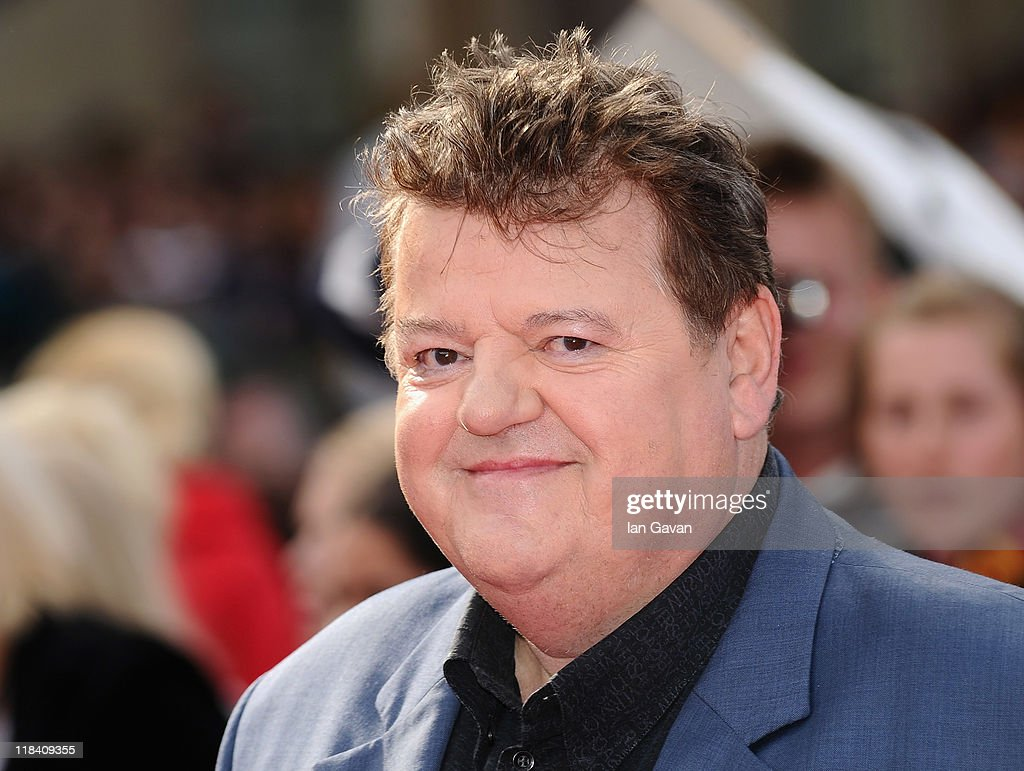 Actor <a gi-track='captionPersonalityLinkClicked' href=/galleries/search?phrase=Robbie+Coltrane&family=editorial&specificpeople=644111 ng-click='$event.stopPropagation()'>Robbie Coltrane</a> attends the World Premiere of Harry Potter and The Deathly Hallows - Part 2 at Trafalgar Square on July 7, 2011 in London, England.