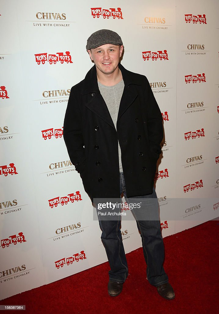Actor Robbie Walsh attends the 'Under The Mistletoe' charity event benefiting the Toys For Tots Foundation at the Lexington Social House on December 14, 2012 in Hollywood, California.