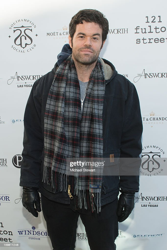 Actor Robert Baker attends Paige Hospitality Game Watch at Sky Bar on January 20, 2013 in Park City, Utah.