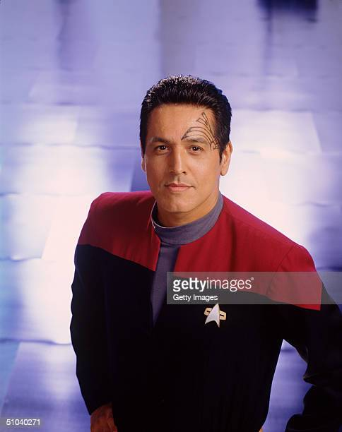 Actor Robert Beltran Stars As In The United Paramount Network's SciFi Television Series 'Star Trek Voyager'