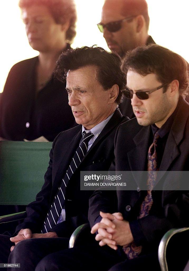 US Actor Robert Blake (C) and his son Noah Blake ( Pictures ...
